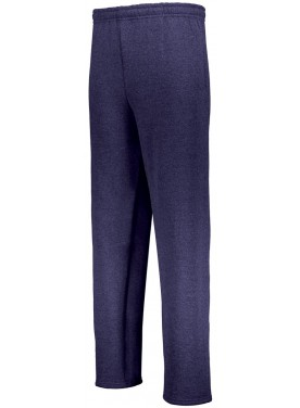 RUSSELL BOYS DRI-POWER OPEN BOTTOM POCKET SWEATPANTS
