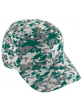 AUGUSTA SPORTSWEAR BOYS DIGI CAMO COTTON TWILL CAP
