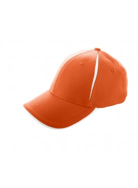 ADULT SPORT FLEX COLOR BLOCK ATHLETIC MESH CAP