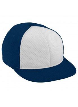 AUGUSTA SPORTSWEAR BOYS ATHLETIC MESH FLAT BILL CAP