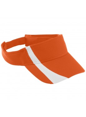 Boys ADJUSTABLE WICKING MESH TWO-COLOR VISOR