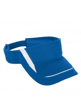 KIDS' ADJUSTABLE WICKING MESH EDGE VISOR