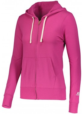 RUSSELL WOMENS ESSENTIAL FULL ZIP JACKET