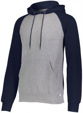 RUSSELL MEN DRI-POWER®  FLEECE COLORBLOCK HOODIE
