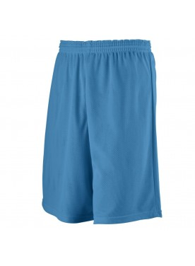 BOYS' LONGER LENGTH MINI MESH LEAGUE SHORT