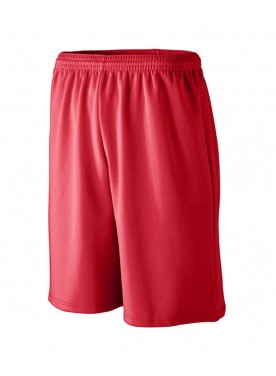 MEN'S LONGER LENGTH WICKING MESH ATHLETIC SHORT