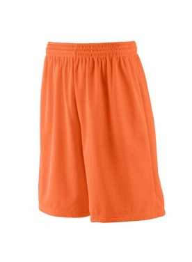 BOYS' LONG TRICOT MESH SHORT/TRICOT LINED