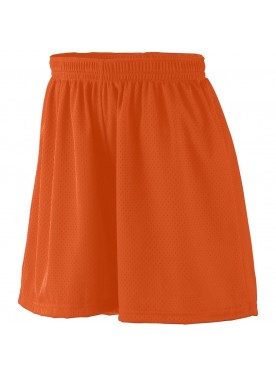 WOMENS LINED TRICOT MESH SHORTS