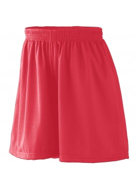 GIRLS' TRICOT MESH SHORT/TRICOT LINED