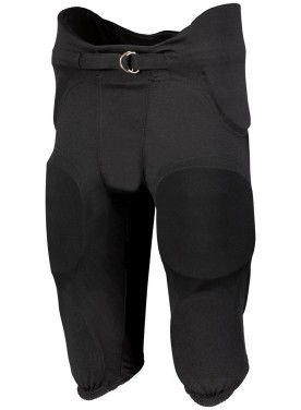 RUSSELL BOYS INTEGRATED 7-PIECE PAD PANT