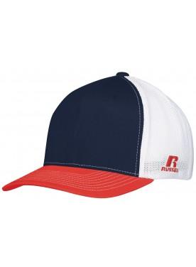 RUSSELL BOYS FLEXFIT TWILL MESH CAP