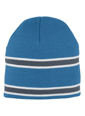 ADULT STRIPED KNIT BEANIE
