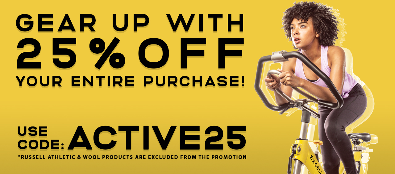 Gear Up with 25% Off Your Purchase