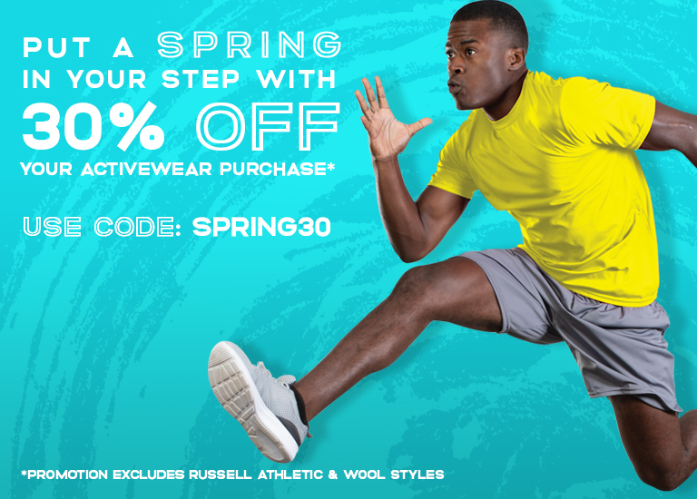 30% off your purchase with code SPRING30