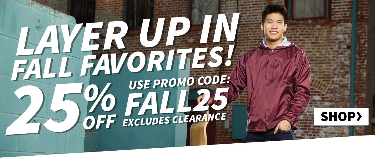 Shop 25% OFF Excludes Clearance